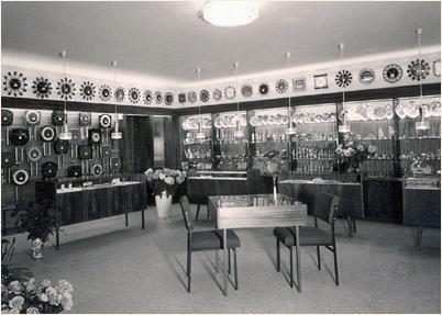 Juwelier Brexel Ladenlokal 1966